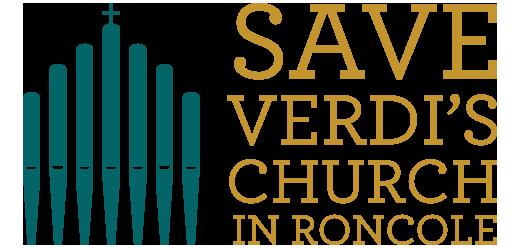 logo Salviamo la chiesa di Verdi EN