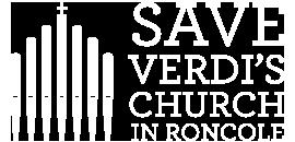 logo Salviamo la chiesa di Verdi